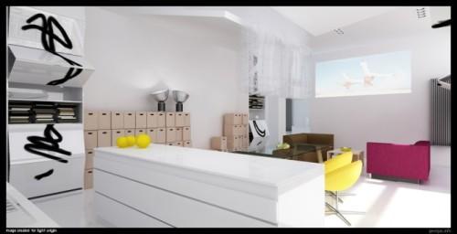 Стильный и современный интерьер комнаты