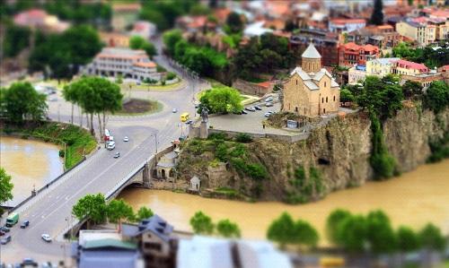 Тбилиси в миниатюре