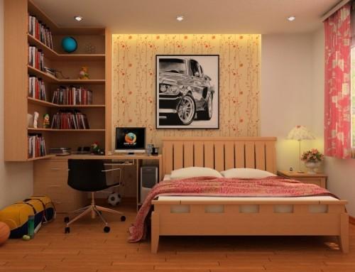Универсальный дизайн от Хьеу Нгуен. Детская спальня