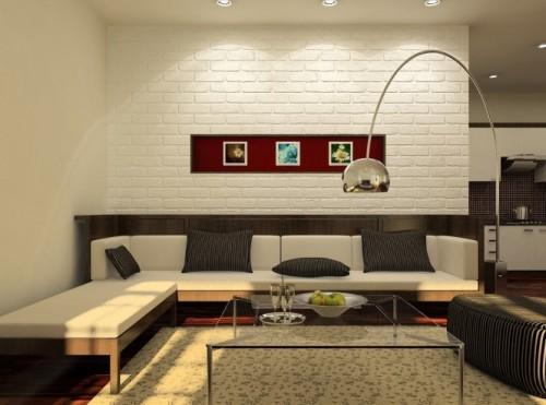 Универсальный дизайн от Хьеу Нгуен. Гостиная со стеклянным столиком