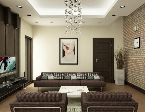 Универсальный дизайн от Хьеу Нгуен. Светлая гостиная