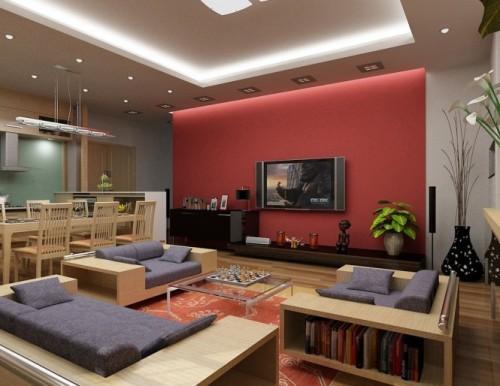 Универсальный дизайн от Хьеу Нгуен. Большая гостиная