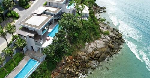 Вилла Чи в Таиланде с высоты птичьего полета