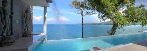 Вилла Чи в Таиланде. Вид на океан