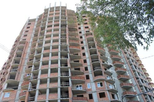 Высотный дом в Борисполе - «Кинг Конг». Приостановленное строительство