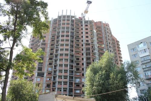 Многоэтажный жилой комплекс в Борисполе