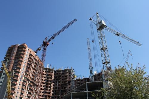 Строительство жилого комплекса в центре Борисоля