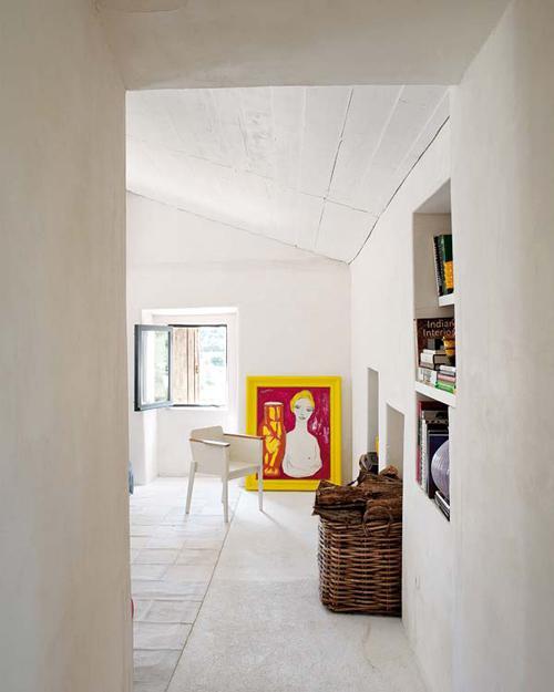 Загородный дом Monica Penaguiao. Творческая комната