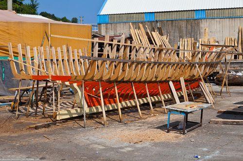 Каркас лодки. Как строятся лодки?