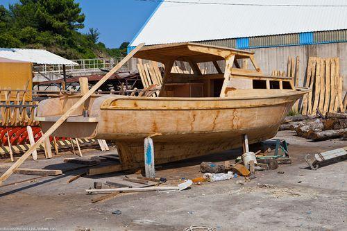 Строительство катера