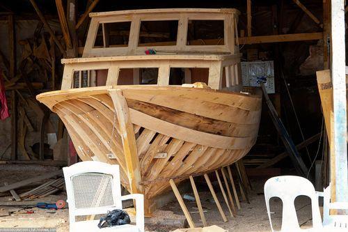 Как сделать из дерева катер