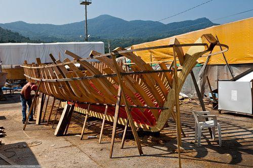 Как строятся лодки?