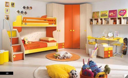 детская с двухспальной кроватью