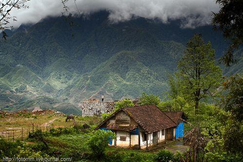 Дом в горах Вьетнама