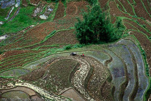 Красивые горы Вьетнама