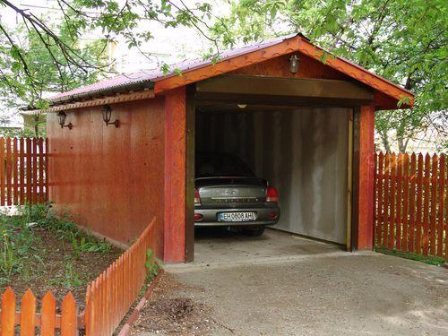 Подъезд к гаражу