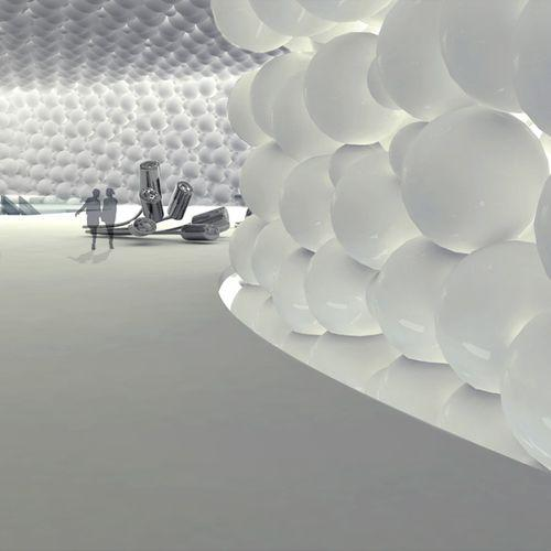 Музей искусств в Тайпее от James Law Cybertecture