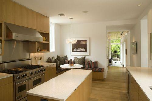 кухня с мягкой мебелью