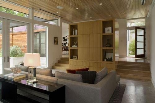Уютная и светлая гостиная