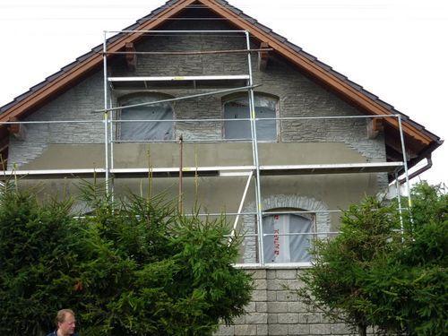 Фасад под камень