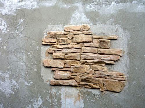 Фрагмент стены под камень