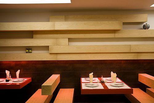 Оригинальный интерьер ресторана
