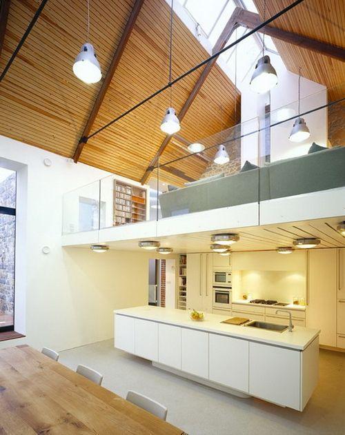 кухня в реконструированном доме