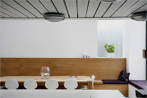 обеденный стол в доме