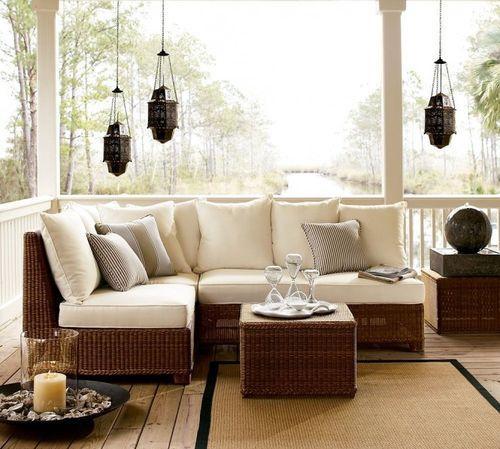Мебель для роскошной террасы