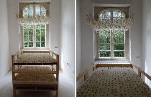 потолок с одуванчиков