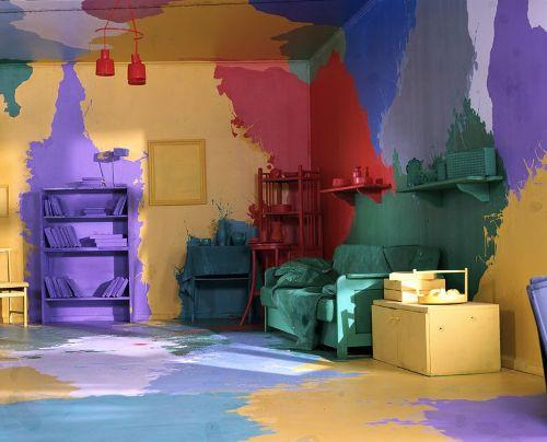 Правила использования красок в ремонтных работах