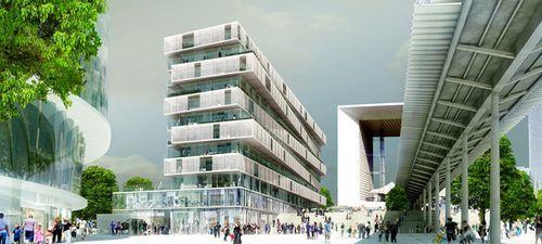 Проект жилого комплекса в Париже