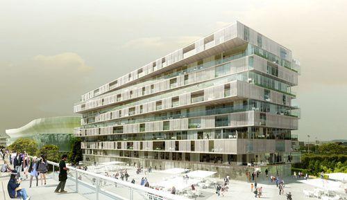 Уникальный жилой комплекс в Париже