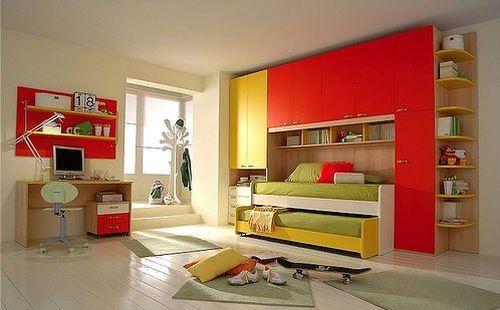 Яркий интерьер детских комнат