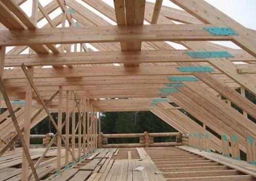 3 этапа строительства крыши