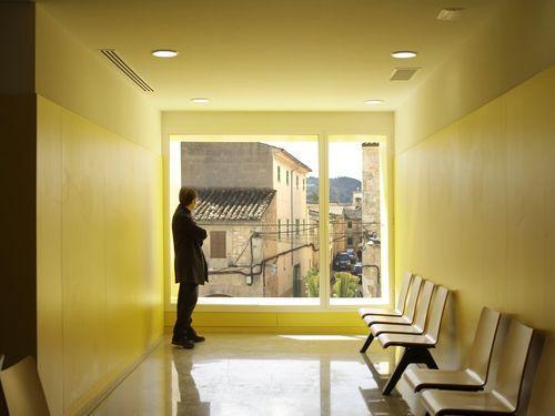 желтый коридор