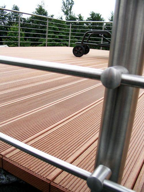 Декинг на балконе