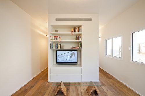 Гостиная комната в однокомнатной квартире