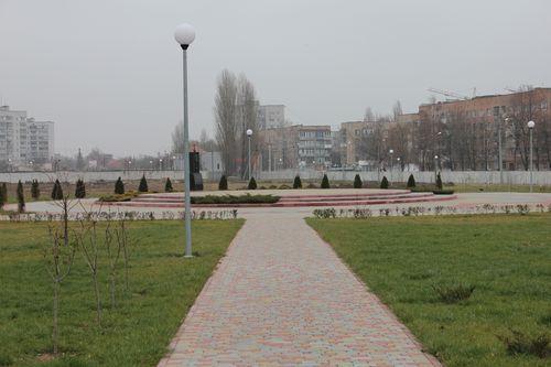 Парк в Книшовом мемориальном парковом комплексе