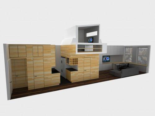 Проект маленькой квартиры