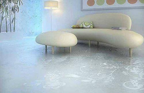 3D пол в гостиной