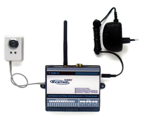 GSM-сигнализация на даче своими руками