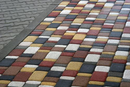 Фото как сделать тротуарную плитку своими руками