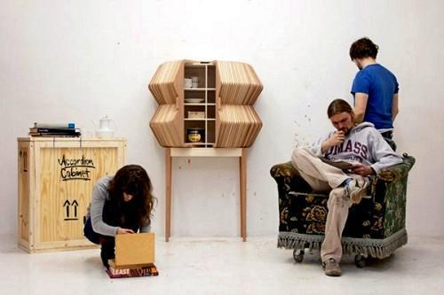 Мебель из дерева от Elisa Strozyk