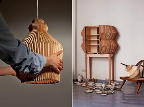 Мебель из дерева для музыкального интерьера