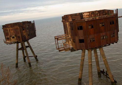 Форты у берегов Англии
