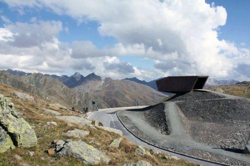 Австрийский музей в горах