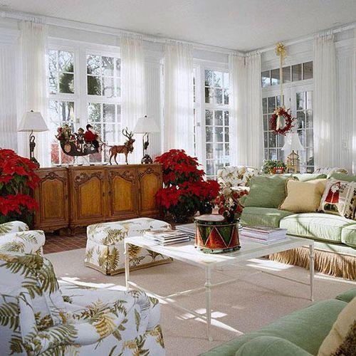 Уютный новогодний интерьер