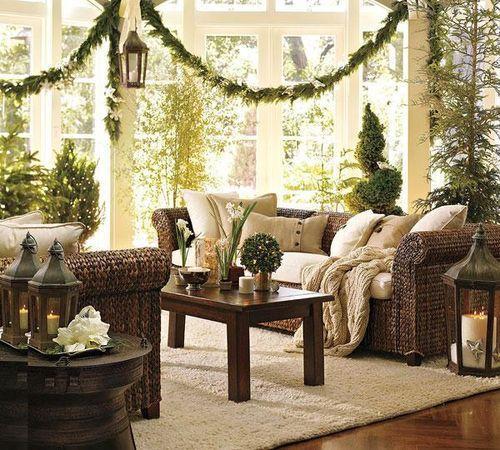 Новогодний интерьер дома и квартиры