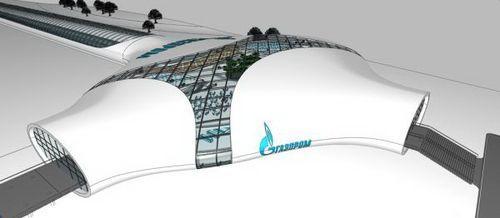 Вокзал в Сибири для Газпрома
